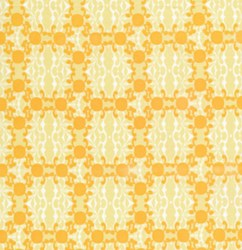 Medium Yellow Tribal  Motif  From Free Spirit Fabrics