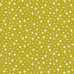 "End of Bolt - 66"" - Paintbox Basics Pickle Sparkles by Elizabeth Hartman for Robert Kaufman Fabrics"
