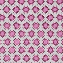 Paintbox Basics Cerise Sun Bursts by Elizabeth Hartman for Robert Kaufman Fabrics