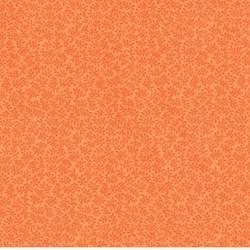 "End of bolt - 42"" - Bear Essentials - Orange Tonal Mini Leaves - by P&B Textiles"