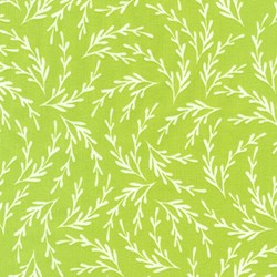 "End of Bolt - 66""  - Reef - Sprout Seaweed - by Elizabeth Hartman for Robert Kaufman Fabrics"