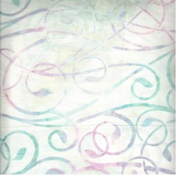 Robert Kaufman Artisan Batiks - Fancy Feathers - Orchid Swirls