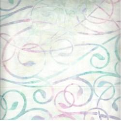 Robert Kaufman Artisan Batiks - Fancy Feathers - Orchid Swirls