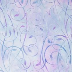 Robert Kaufman Artisan Batiks - Fancy Feathers - Lavender Swirls