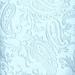 "Baby Blue Cuddle Paisley Minky - 60"" wide"