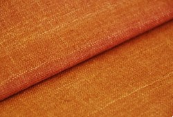 "10"" Remnant - Rust/Curry Silk Matka Fabric"