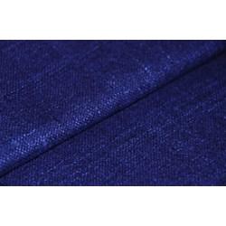 "24"" Remnant - Blue /Navy Silk Matka Fabric"