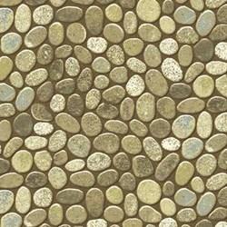 Stonehenge Woodland Autumn - Rocks by Linda Ludovico