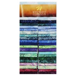 Vintage Find!  Stonehenge Strips - Jewel Tones