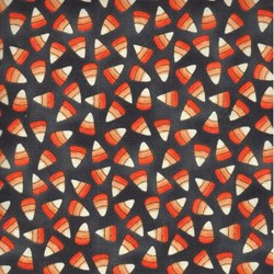 Spooky Shadows Candy Corn by Studio E Fabrics