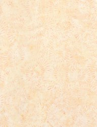 "End of Bolt - 66"" - Tonga Batiks -Shell B6302 -Lush Collection"
