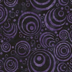 "End of Bolt - 50"" - Tonga Batiks - Deep #B5676- Retired!  Mystic Collection"