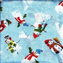 Winter's Eve - Snowmen - by John Sloane for Wilmington Prints