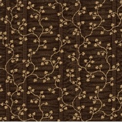 Great Hits by Windham Fabrics - Gold Vine on Dark Brown