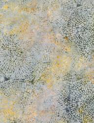 Tonga Batiks -Mineral Matrix- Winter Circle Mosaic- by Timeless Treasures