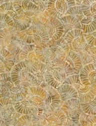 Tonga Batiks -Mineral Matrix- Toffee Seashells - by Timeless Treasures