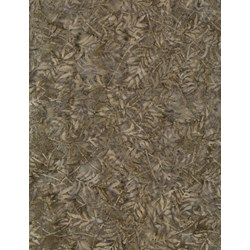 Tonga Batiks -Mineral Matrix- Ash - Forest Leaves- by Timeless Treasures