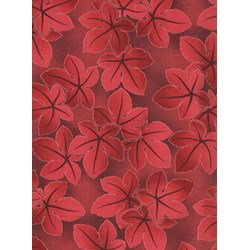 Falling Leaves- Red by Kona Bay Fabrics