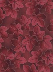 Falling Leaves- Wine  by Kona Bay Fabrics
