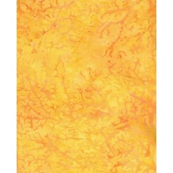 Island Batik - Yellow Crackle