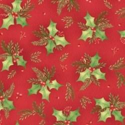 "End of Bolt - 52""  - Holly - Songbird Christmas by Maywood"