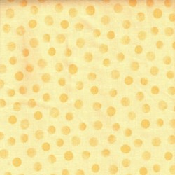 "16"" Remnant - The World of Susybee - Yellow Tonal Dots"