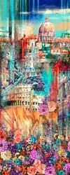 WANDERLUST - ROME - A Hoffman Spectrum Print