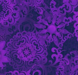 Shadowland IV -Purple SHAD-40  by Kona Bay Fabrics - <i>Retired Fabric!</i>