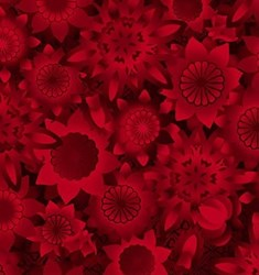 Shadowland IV -Red SHAD-41  by Kona Bay Fabrics - <i>Retired Fabric!</i>