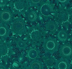 Shadowland IV -Teal SHAD-41  by Kona Bay Fabrics - <i>Retired Fabric!</i>