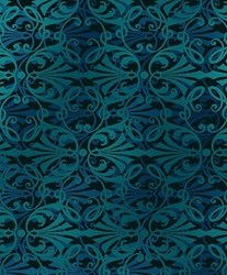 Shadowland IV - Aqua  SHAD-42  by Kona Bay Fabrics - <i>Retired Fabric!</i>