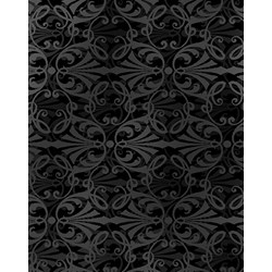 Shadowland IV - Black SHAD-42  by Kona Bay Fabrics - Retired Fabric!