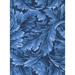 William Scrolls -Royal  by Kona Bay Fabrics
