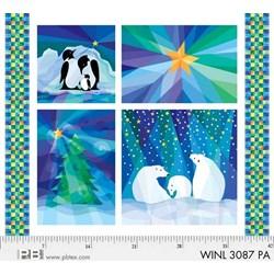"""Winter Nights Panel - 36"""""""
