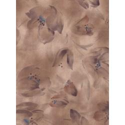 Harmony - Origins - Leaf Silhouette Taupe  by Kona Bay Fabrics