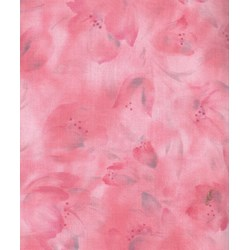 Harmony - Origins - Leaf Silhouette Pink  by Kona Bay Fabrics