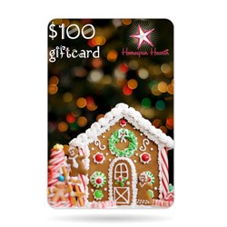 Gift Card - Gingerbread House $10, $25, $50, $75, or $100