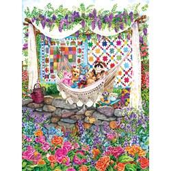 Garden Hammock  - 1000 piece puzzle
