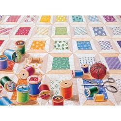 Spools Puzzle  - 1000 piece puzzle