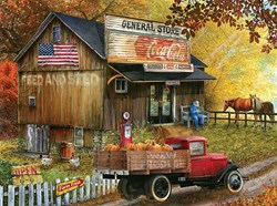 Feed & Seed General Store Puzzle  - 1000 piece puzzle