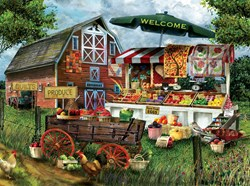 Fresh Country Produce  - 1000 piece puzzle