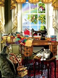 The Sewing Room - 1000 piece puzzle