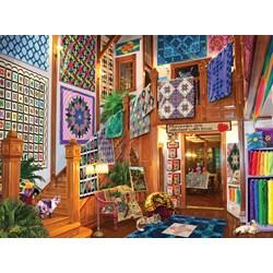 Handmade Quilts Puzzle  - 1000 piece puzzle
