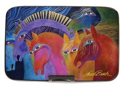Wild Horses of Fire Armored Wallet