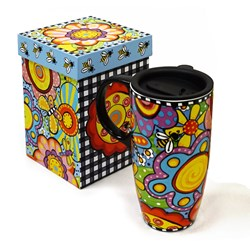Bugapalooza 17oz Travel Mug with Lid