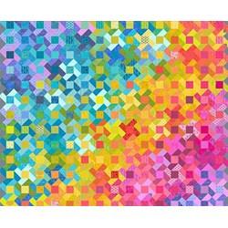 Kwik Whirligig Throw Pattern & English Paper Pieces Bundle