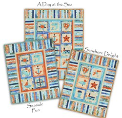Exclusive Day at Sea Quilt Kit!