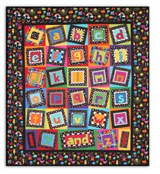 ABC Fun!   Quilt Kit by Paradise Quilt Designs
