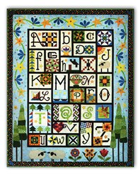 Back in Stock!   A to Z for Ewe and Me! Quilt Pattern