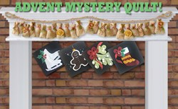 2019 Advent Mystery Quilt - Wall Hanging - Reserve Yours Today!